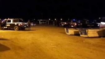 Asesinan a 5 hombres a tiros en Empalme