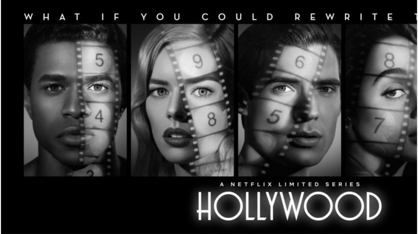 "Ryan Murphy reescribe la historia del cine con ""Hollywood"".(Tomada de la red)"