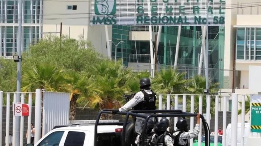 Hospitales del IMSS e Insabi son resguardados por la Guardia Nacional(EFE)