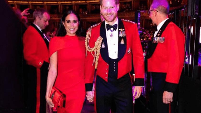 """La felicitación de Meghan y Harry se produce después de que la joven pareja decidiera cortar lazos con cuatro medios británicos, incluidos el """"Daily Mail""""."""