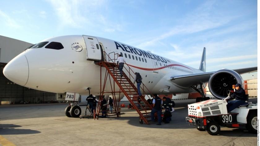 La flota operativa de Grupo Aeroméxico es de 119 aviones al cierre del primer trimestre del 2020.