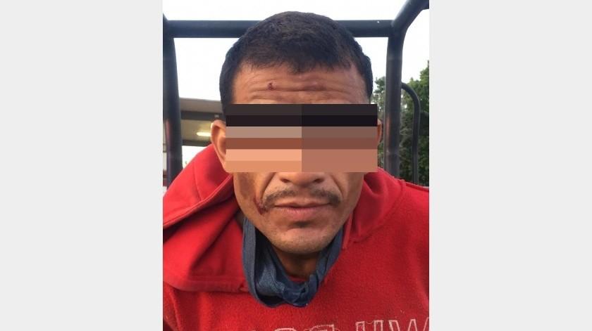 Detienen a hombre por robo a escuela en la colonia Sahuaro(Especial)