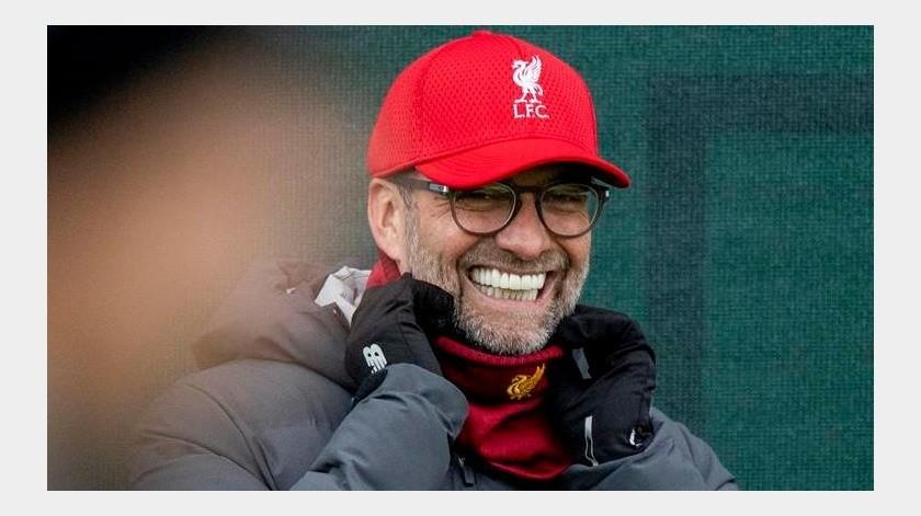 """""""Mi vida no cambió por la cuarentena"""": Jürgen Klopp, DT del Liverpool(EFE)"""