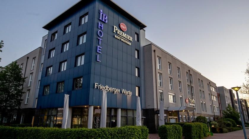 Vista del exterior de un hotel Best Western en Fráncfort, Alemania.(AP)