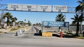 Restringen horario de Garita Nuevo Mexicali