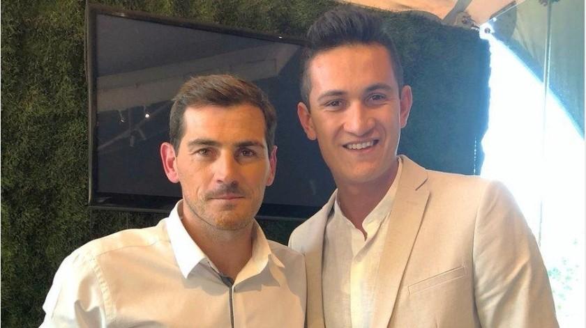 Gran cumpleaños para Raúl Gudiño, el legendario Iker Casillas lo felicita(Twitter @@IkerCasillas)