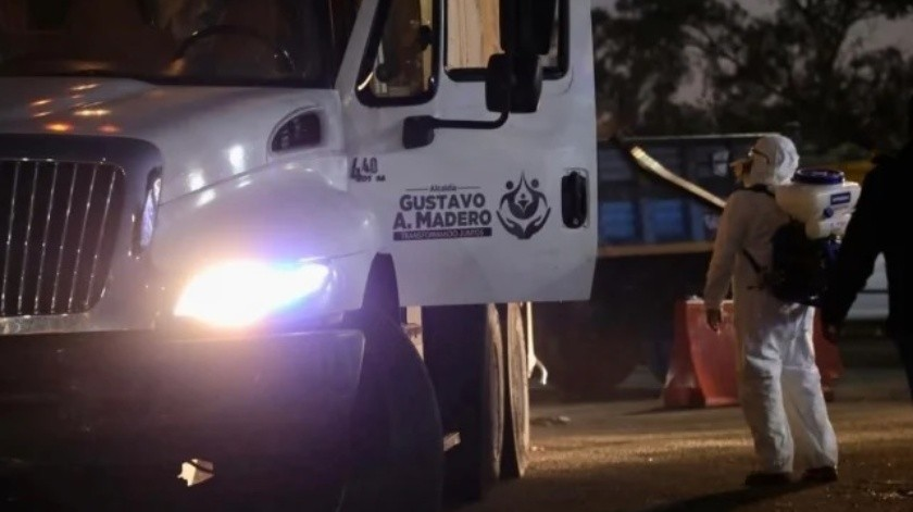 276 inmuebles y más de mil vehículos oficiales son sanitizados en la GAM(Especial)