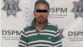 Arrestan a hombre con droga en Valle de Puebla