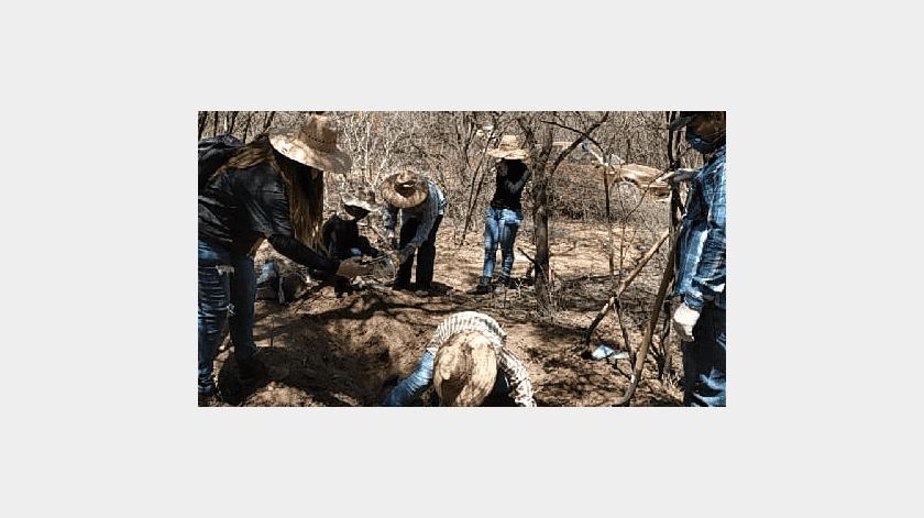 Localizan Rastreadoras de CO otra osamenta en la Leandro Valle