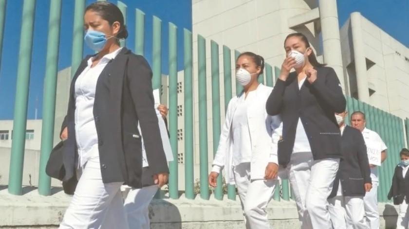 Enfermera de Chiapas muere por Covid-19(El Universal)