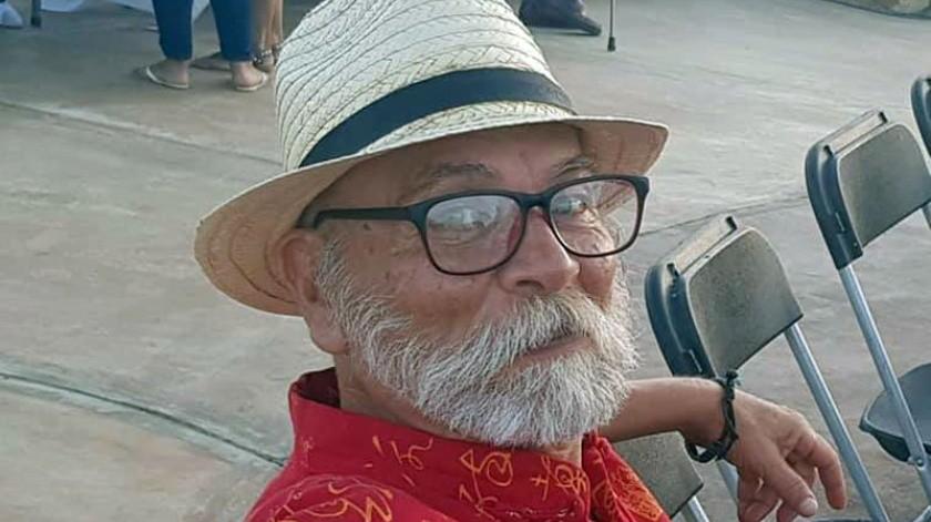 El escritor tecatense Roberto Castillo Udiarte.(Cortesía)
