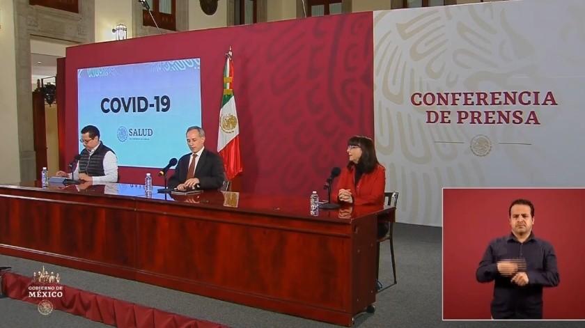 Covid-19 en México: Suman 11 mil 633 casos confirmados y mil 69 decesos(Captura de pantalla)