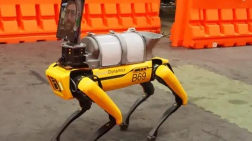 Aliado inesperado se une contra coronavirus: el perro robot de Boston Dynamics(Boston Dynamics)