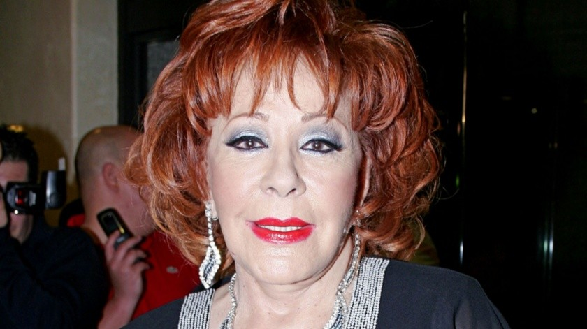 Silvia Pinal está delicada de salud.(Agencia México)