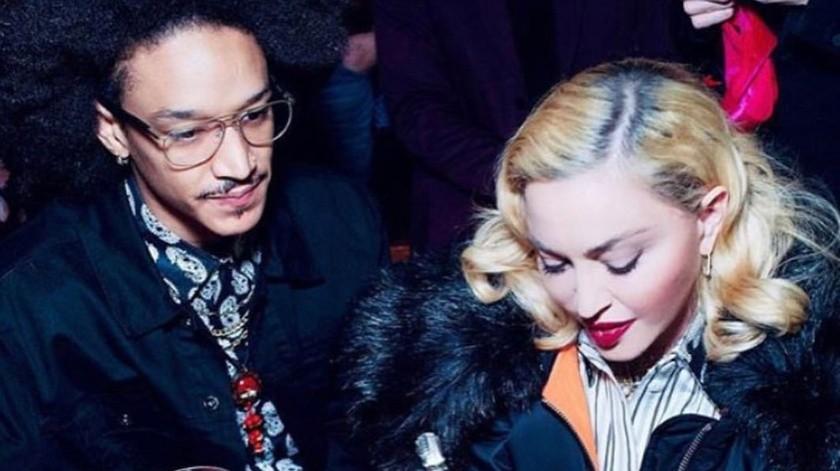 Madonna celebra a su novio.(Cortesía Instagram)