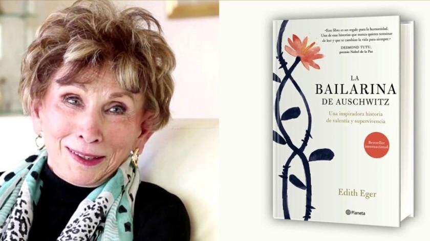 """El libro más leído en México esta semana es """"La bailarina de Auschwitz""""de Edith Eger.(Tomada de la red)"""