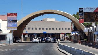 Continúa afluencia vehícular en centro de la ciudad y disminuye en cruces fronterizos