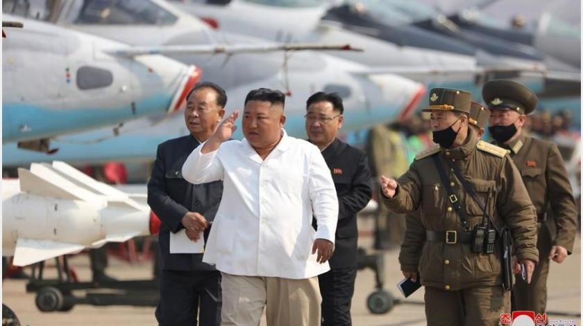 Imágenes satelitales difundidas en las últimas horas ubican en la ciudad norcoreana de Wonsan el tren que normalmente está reservado para el dictador de Corea del Norte, Kim Jong-un,(EFE)
