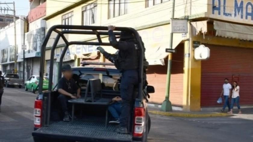 38 personas fueron detenidas tras salir sin cubrebocas en Irapuato(Especial)