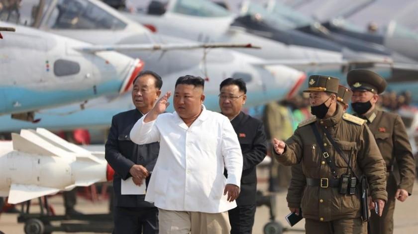 Kim envió un escueto agradecimiento a través del principal diario del país, el Rodong, a aquellos que trabajan en el proyecto turístico de la península de Kalma.(EFE)