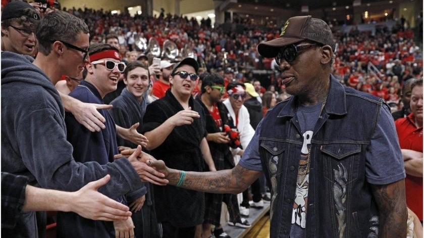 Armstrong habla de como influyó Dennis Rodman en los campeonatos de los Bulls(AP)