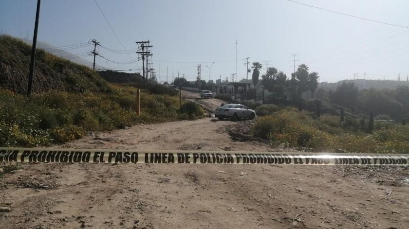 Abandonan cadáver maniatado cerca del Monte de los Olivos(Margarito Martínez)