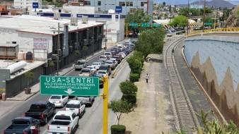 Información de cruces fronterizos a EU por Sonora