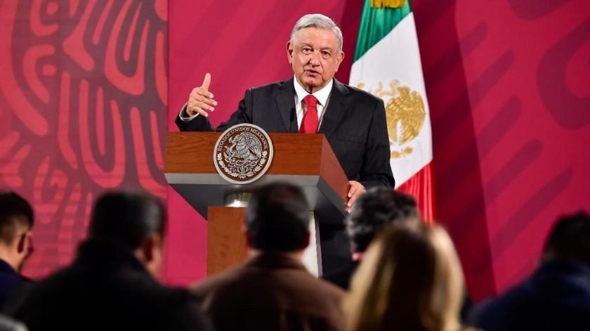 """El presidente Andrés Manuel López Obrador criticó hoy el acuerdo con el BID; """"no me gustó el modito"""", dijo en su conferencia mañanera."""