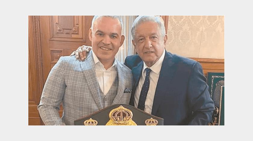 AMLO y AMB se unirian para construir academia de boxeo en México(Especial)