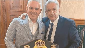 AMLO y AMB se unirian para construir academia de boxeo en México