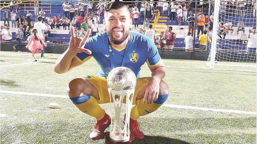 Carlos Félix es el actual campeón de goleo de la Liga de Nicaragua.(Especial)