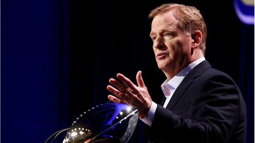 Comisionado de la NFL renunciará a su sueldo durante la pandemia del coronavirus(EFE)