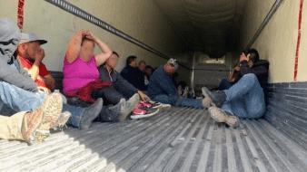 Camión cargado con migrantes es interceptado en Imperial