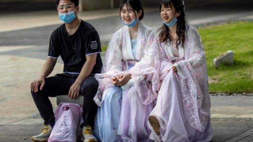 China reporta 3 nuevos contagios de Covid-19; mantiene tendencia en niveles mínimos(EFE)
