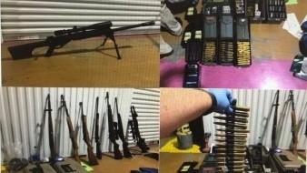 Hallan arsenal robado en Calexico