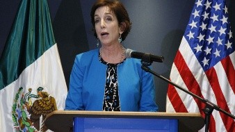 La exembajadora de Estados Unidos Roberta Jacobson, en entrevista para El Universal, se refirió al caso de Genaro García Luna.
