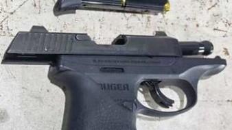 Droga y armas interceptadas en puesto de Patrulla Fronteriza