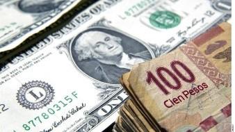 Peso mexicano rompe su racha positiva