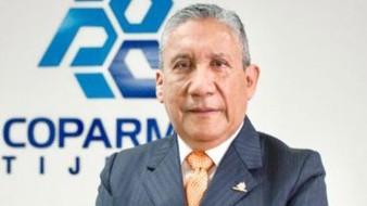 Roberto Rosas Jiménez, presidente de Coparmex Tijuana.