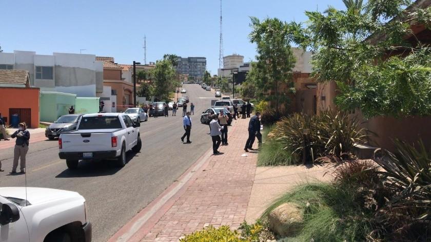 La residencia se localiza sobre Paseo Cumbres de Maltrata.(Pablo Hutado.)