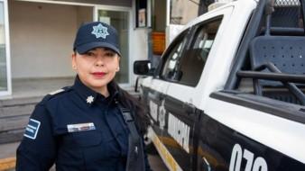 Ama Fabiola ser madre y servir a la sociedad como policía