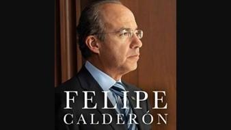 Calderón anuncia libro con frase