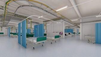 Construye UABC y la IP Hospital Móvil Covid-19