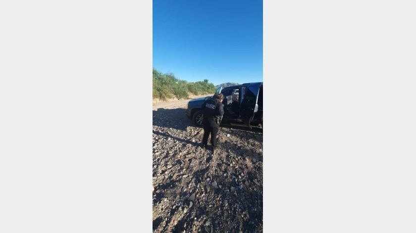 Tras balaceras en Magdalena encuentran siete autos, armas, cartuchos y granadas