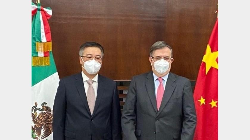 """China agradece solidaridad de México ante la pandemia: """"Jamás olvidaremos""""(Twitter @m_ebrard)"""
