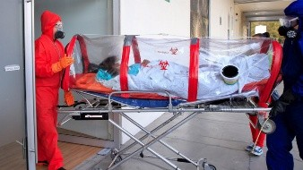 IMSS recibe primeros pacientes Covid-19 en hospital de expansión Autódromo Hermanos Rodríguez