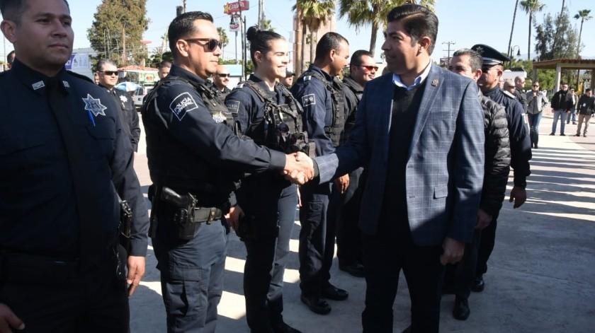 Deja Ayala Robles a la Policía en el mínimo personal(Tomada de la red)