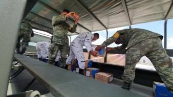 Llegará material para combatir pandemia en hospitales militares de Sonora