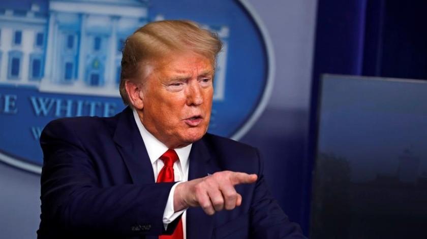 Donald Trump insinúa que podría ser presiente durante 9 o 13 años más(EFE)