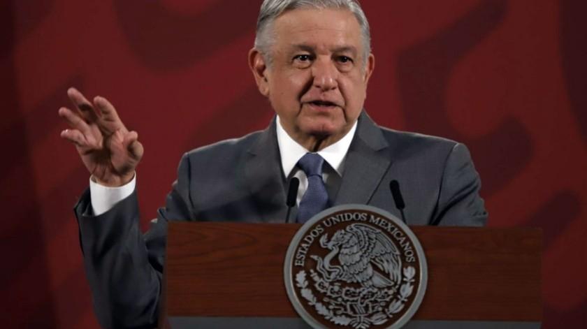 El presidente Andrés Manuel López Obrador.